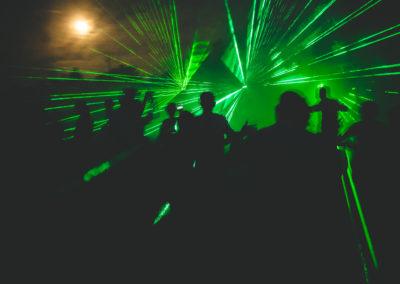 Pokaz laserowy konin