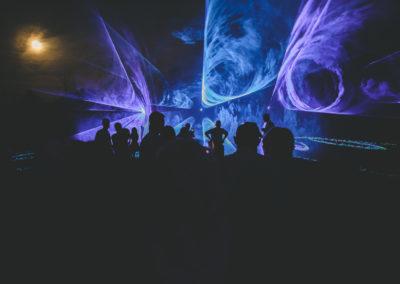 Pokaz laserowy w Koninie